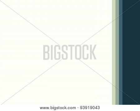 Environmental business abstract background for reports and presentations. Strict border to the right of the background space poster