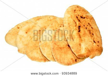 Group Of Pitta Breads