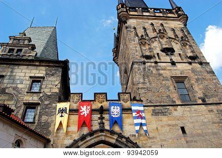 Lesser Town Bridge Tower, Prague.