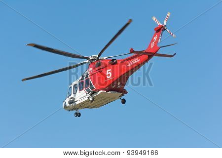 Los Angeles Fire Department Helicopter