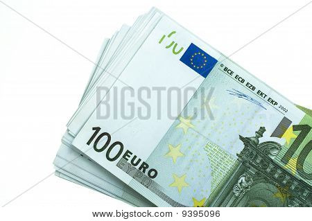 Stack Of 100 Euro