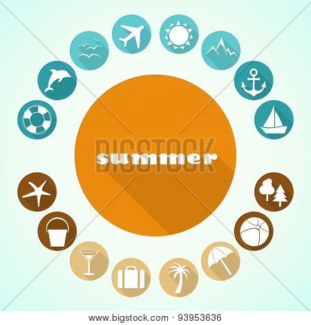 Summer icons 4