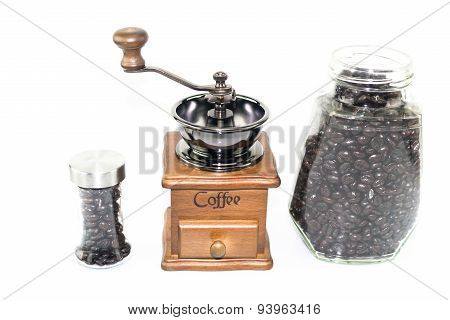 Coffee Blender Spinner With Coffee Bean