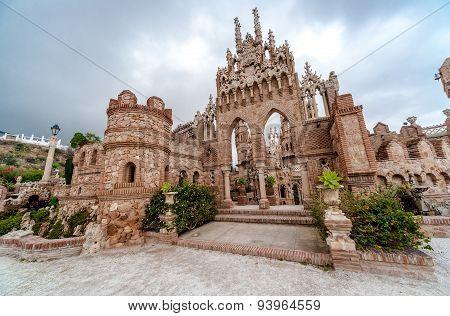 Colomares Castle. Benalmadena Town. Spain