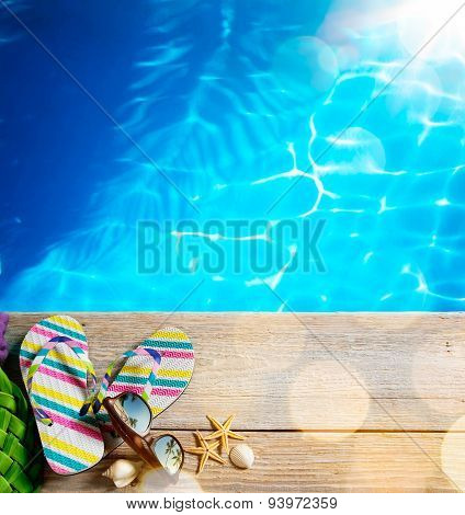 Ar Beach Summer;  Beach Accessories