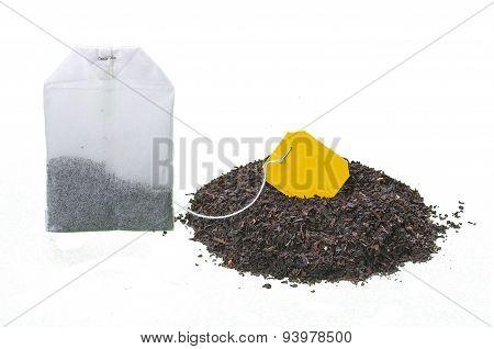 Bunch Of Tea And A Bag
