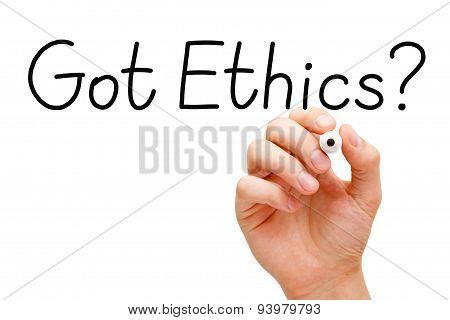 Got Ethics Black Marker