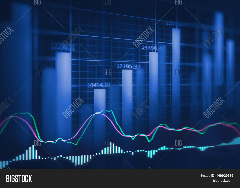 Graph Stock Market Image & Photo (Free Trial)   Bigstock