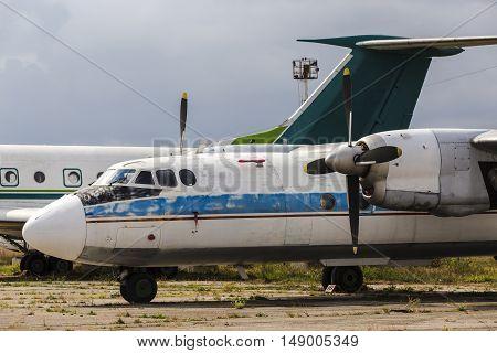 Airplane Graveyard In Moldova