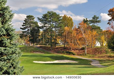 Autumn Sand Trap