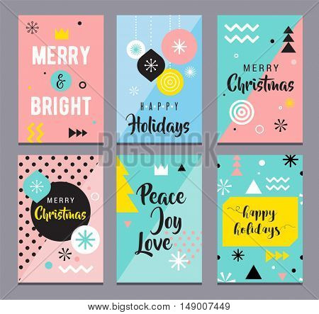Christmas Sale backgrounds, mobile theme. Modern design for poster, card, invitation, flyer