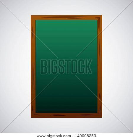 greenboard school supply icon vector illustration design