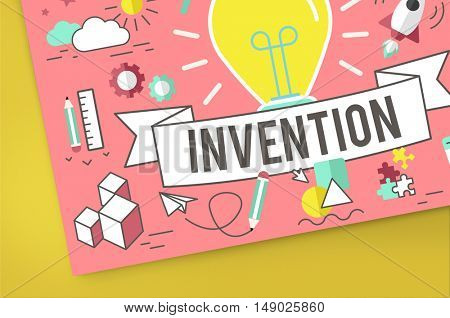 Invention Design Ideas Creative Imagination Concept