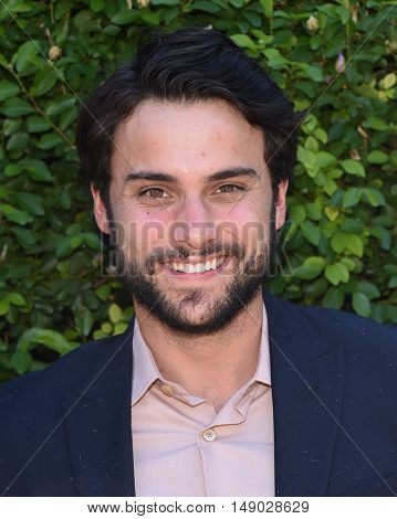 LOS ANGELES - SEP 25:  Jack Falahee arrives to The Rape Foundation Annual Brunch on September 25, 2016 in Beverly Hills, CA