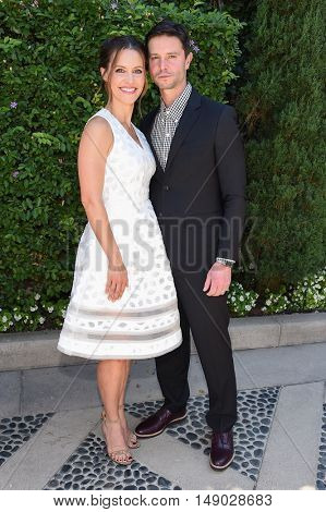 LOS ANGELES - SEP 25:  Kadee Strickland and Jason Behr arrives to The Rape Foundation Annual Brunch on September 25, 2016 in Beverly Hills, CA