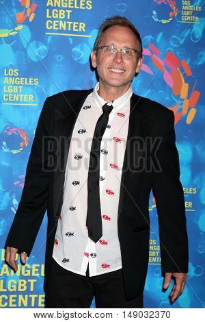 LOS ANGELES - SEP 24:  Del Shores at the Los Angeles LGBT Center 47th Anniversary Gala Vanguard Awards at the Pacific Design Center on September 24, 2016 in West Hollywood, CA