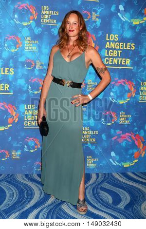LOS ANGELES - SEP 24:  Jen Richards at the Los Angeles LGBT Center 47th Anniversary Gala Vanguard Awards at the Pacific Design Center on September 24, 2016 in West Hollywood, CA