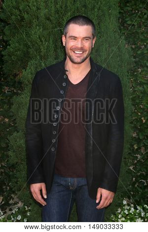 LOS ANGELES - SEP 25:  Charlie Weber at the The Rape Foundation's Annual Brunch at the Private Residence on September 25, 2016 in Beverly Hills, CA