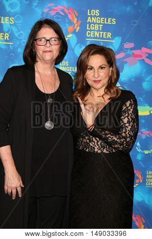 LOS ANGELES - SEP 24:  Mo Gaffney, Kathy Najimy at the Los Angeles LGBT Center 47th Anniversary Gala Vanguard Awards at the Pacific Design Center on September 24, 2016 in West Hollywood, CA