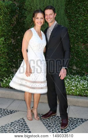LOS ANGELES - SEP 25:  KaDee Strickland, Jason Behr at the The Rape Foundation's Annual Brunch at the Private Residence on September 25, 2016 in Beverly Hills, CA