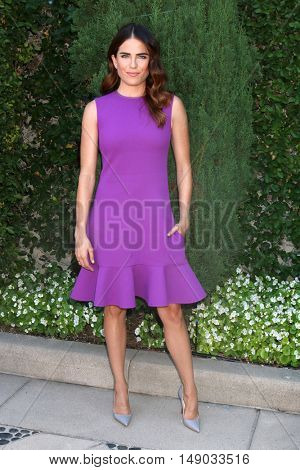 LOS ANGELES - SEP 25:  Karla Souza at the The Rape Foundation's Annual Brunch at the Private Residence on September 25, 2016 in Beverly Hills, CA
