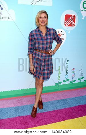 LOS ANGELES - SEP 24:  Christine Lakin at the 5th Annual Red Carpet Safety Awareness Event at the Sony Picture Studios on September 24, 2016 in Culver City, CA