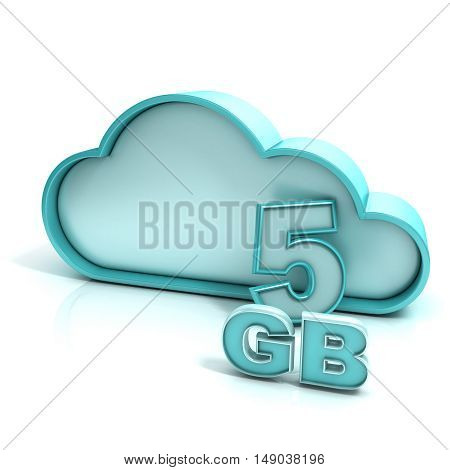 Cloud Computing And Database. 5 Gb Capacity