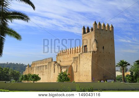 The Bab Al Amer in Meknes Morocco