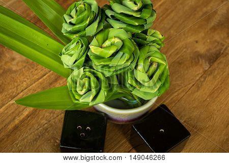 Pandanus Leaf Bending A Bouquet
