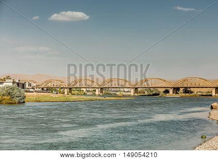 Old bridge in Iraqi Kurdistan region renovated recently