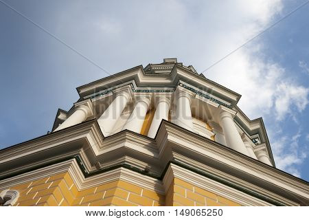 Ortodox church detail against the blue sky. ** Note: Slight blurriness best at smaller sizes