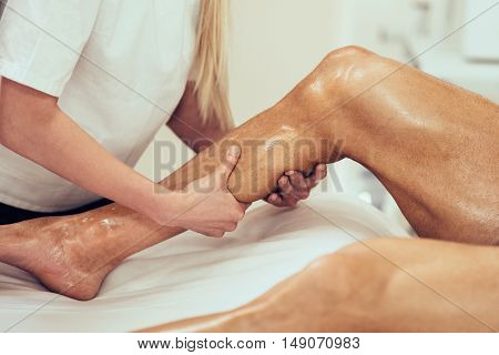 Sports Massage - Calf Massage