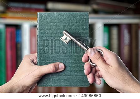 The Book Is The Key To Success