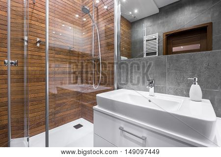 Touch Of Luxury In A Bathroom
