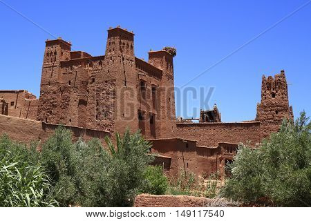 The Kasbah of Ait Benhaddou Morocco, Africa