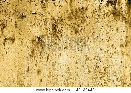 Old Painted Brown Rusty Wall Detailed Texture