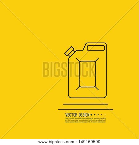 Canister Under Petrol Vector Photo Free Trial Bigstock
