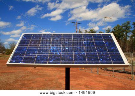 Blue Sky Solar Panel