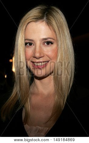 Mira Sorvino at the 78th Annual Academy Awards Nominations held at the Academy of Motion Picture Arts and Sciences in Beverly Hills, USA on January 31, 2006.