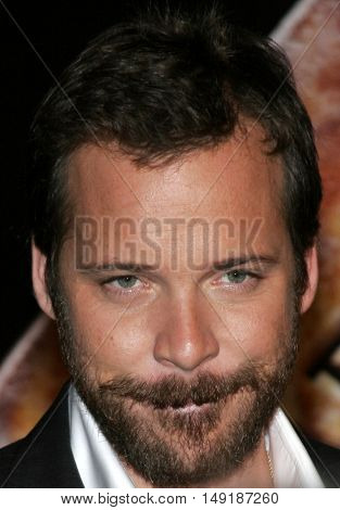 Peter Sarsgaard at the World premiere of 'Jarhead' held at the Arclight Cinemas in Hollywood, USA on October 27, 2005.