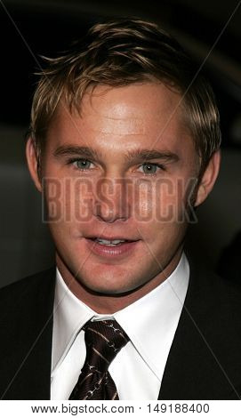 Brian Geraghty at the World premiere of 'Jarhead' held at the Arclight Cinemas in Hollywood, USA on October 27, 2005.
