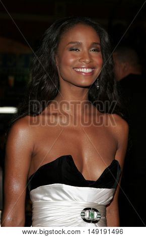 Joy Bryant at the Los Angeles premiere of 'Get Rich or Die Tryin' held at the Grauman's Chinese Theatre in Hollywood, USA on November 3, 2005.