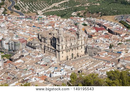 Cathedral Of Jaen City