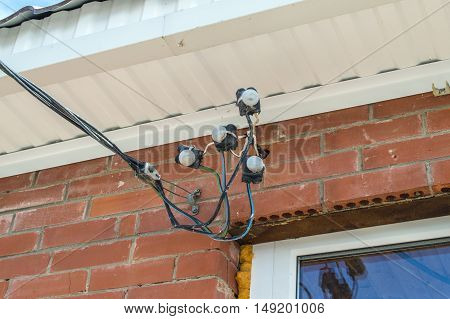Input Of Electric Wires