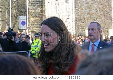 Kate Middleton in St Andrews