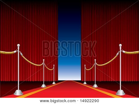 Red Carpet Stage