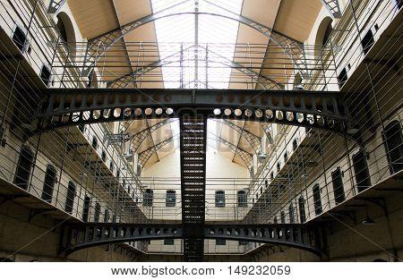Historical Dublin Prison, Kilmainham Gaol, Inchicore 1796