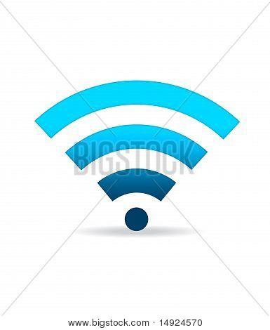 Green Wifi Sign