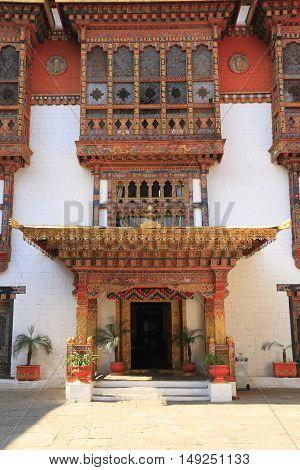 The Punakha Dzong