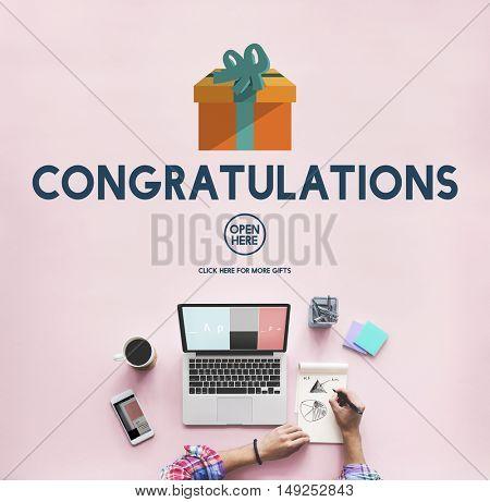 Congratulations Celebration Congrats Greeting Concept